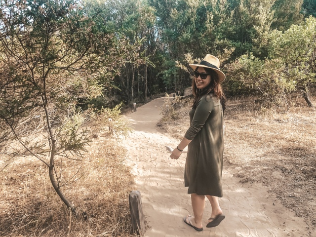 Wool& Rowena Dress Merino Review at samanthawan.com.au