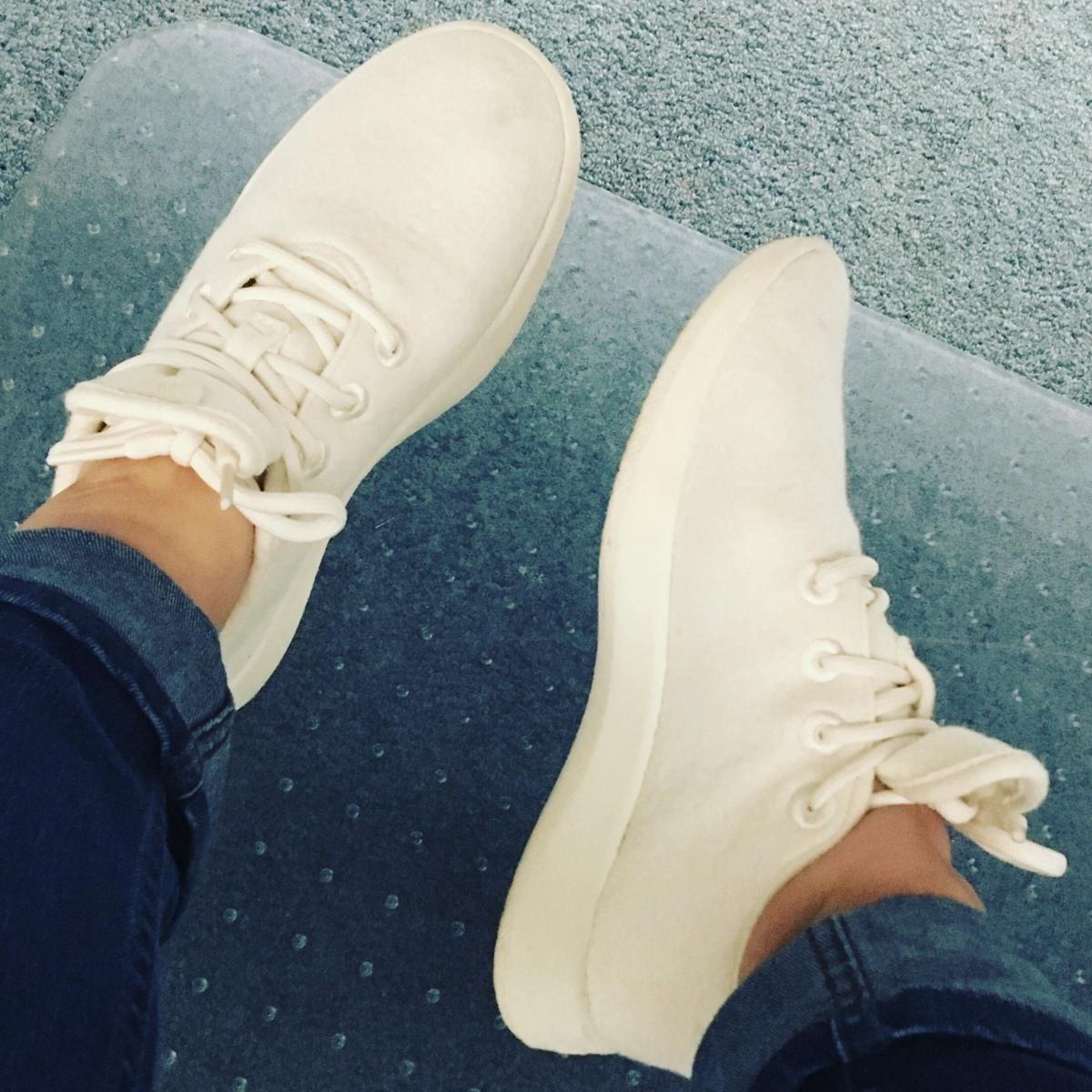 White AllBirds Wool Sneakers review samanthawan.com.au